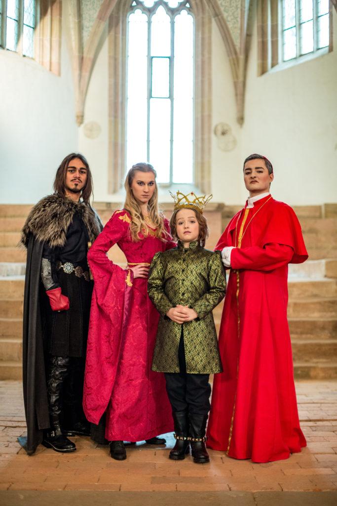 Nottingham, Lady Isabelle, Prinz John, Bischof von Hertford - Für Liebe und Gerechtigkeit - Musicalkids