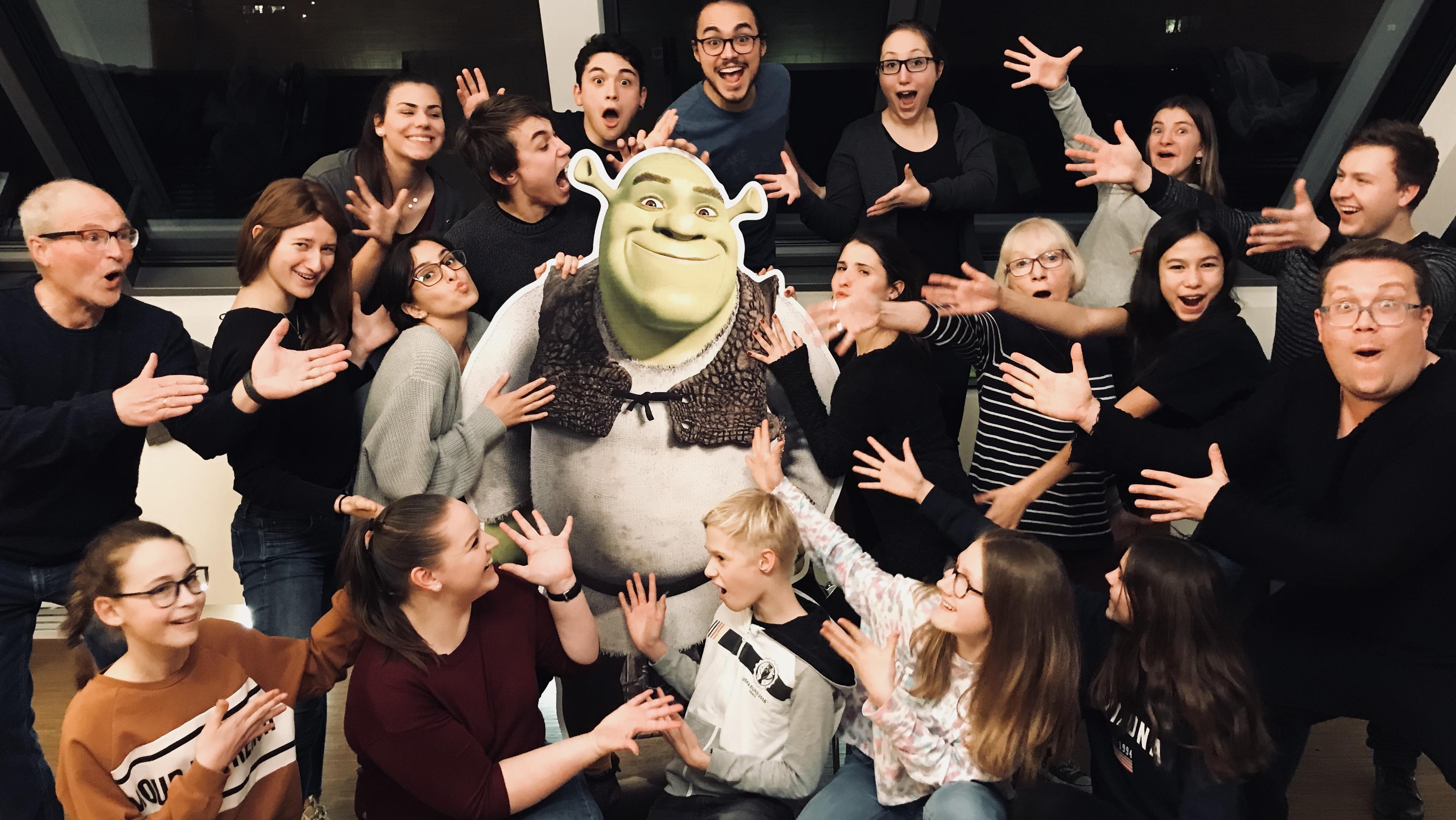 "Großes Casting der Musical-Factory für ""Shrek – Das Musical"""