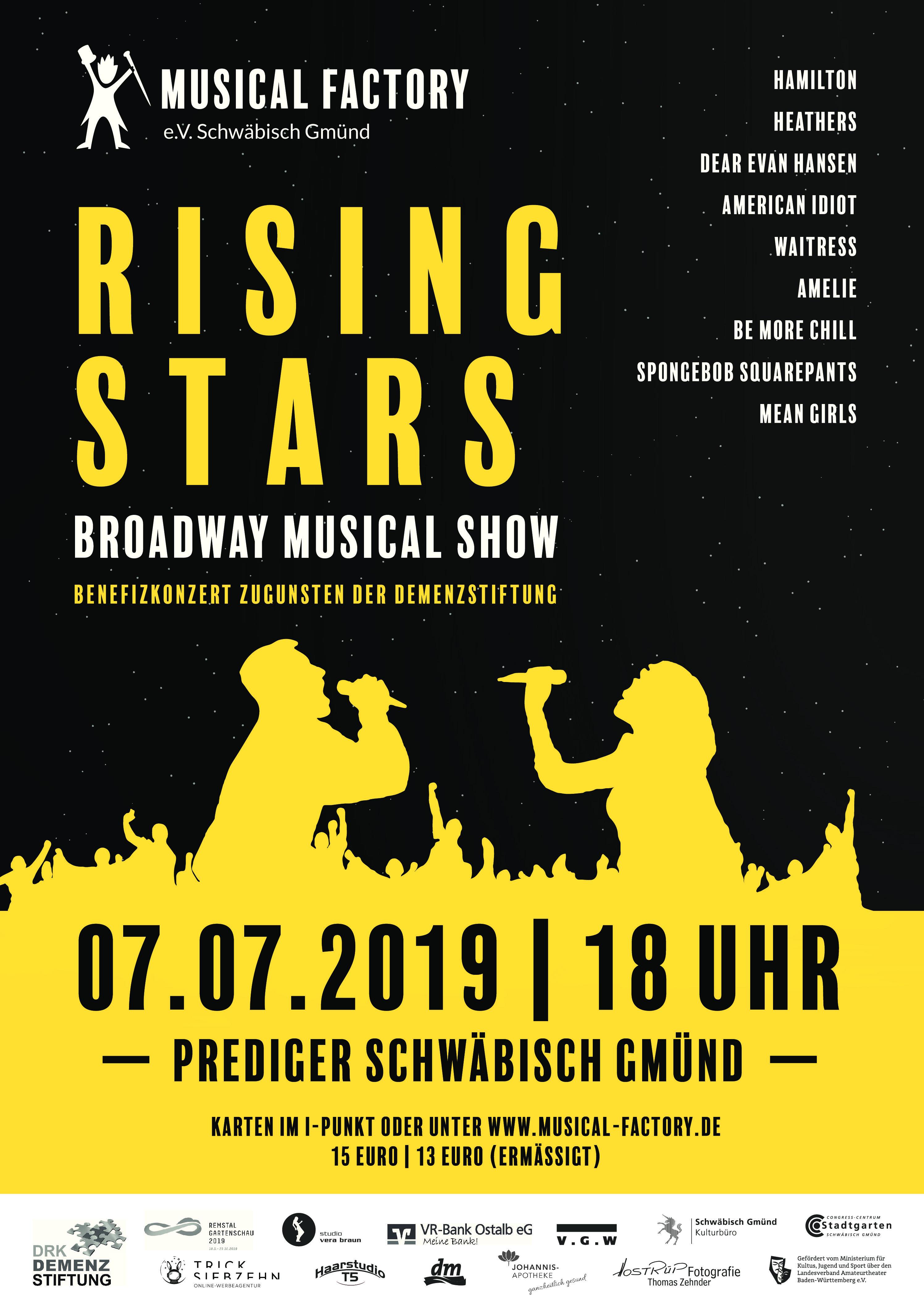 """""""Rising Stars"""" – Benefizkonzert für die Demenzstiftung"""